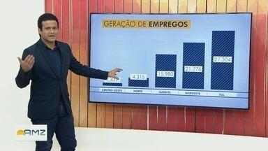 Especialista do AM fala sobre a geração de empregos no Brasil - Flávio Guimarães comenta.