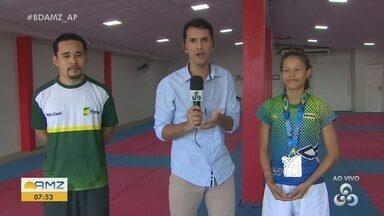 Amapá conquista medalhas na Copa Brasil de Taekwondo, no Rio Grande do Norte - Jovens medalhistas brilharam para o estado.