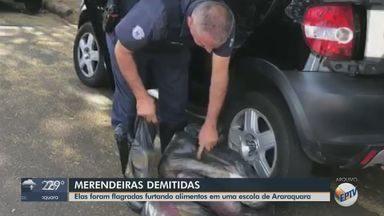 Servidoras envolvidas em furto de merenda escolar em creche de Araraquara são exoneradas - Procuradoria Geral do Município informou que a decisão foi tomada após análise dos materiais audiovisuais.