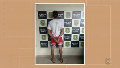 Suspeito de matar turista gaúcha em Balneário Camboriú é preso - Em interrogatório homem alega que agrediu vítima porque ela teria furtado R$ 50.