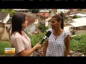 Quadro 'Me chama que eu vou' mostra problemas no Bairro Esperança em GV - Moradores reclamam de sujeira e falta de asfalto na Rua Ouro Preto.