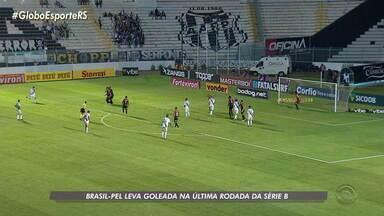 Brasil-Pel leva goleada da Ponte Preta na última rodada da série B - Assista ao vídeo.