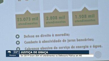 Atendimentos de defesa do consumidor e de saúde passam dos 33 mil na Defensoria Pública - Balanço aponta que foram 354 mil atendimentos em 2019