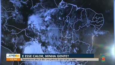 Temperatura mais alta dos últimos 56 anos registrada em Campina Grande - Em algumas cidades do sertão a sensação térmica pode chegar a 45 graus.