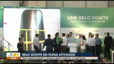 Usina de Belo Monte é inaugurada pelo governador Helder Barbalho e o presidente Bolsonaro - undefined
