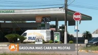Litro da gasolina já está mais caro em Pelotas - Assista ao vídeo