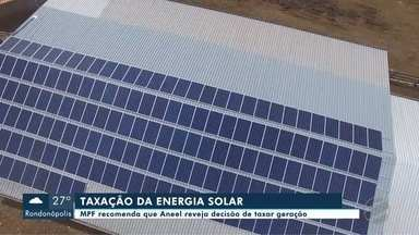 Ministério Público recomenda não taxação da energia solar - undefined