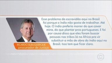 Procurador gravado em declaração racista se afasta do cargo de ouvidor-geral - O Colégio de Procuradores de Justiça do MP do Pará, por unanimidade, decidiu abrir processo administrativo contra Ricardo Albuquerque.