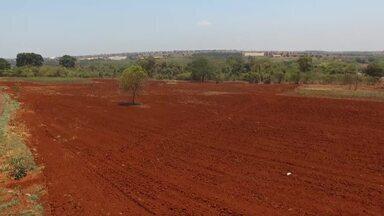 Prefeitura de Santa Vitória pede devolução de terreno ao governo do estado - Construção de porto de grãos foi anunciada há mais de 20 anos e nunca saiu do papel. Município busca empresas para investir no local.
