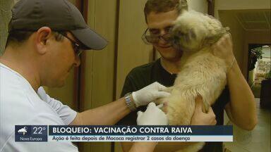 Vigilância de Saúde de Mococa promove ações de bloqueio após dois casos de raiva - Município confirmou doença em animais domésticos.
