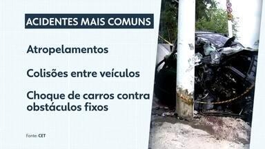 Foram registrados 849 mortes no trânsito na capital em 2018, a maioria de motociclistas - O número de óbitos de motociclistas em acidentes de trânsito ultrapassou a quantidade de pedestres atropelados em São Paulo.
