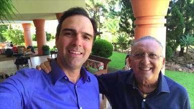 Após infarto, Galvão Bueno volta pra casa e bate um papo com o Fantástico - undefined