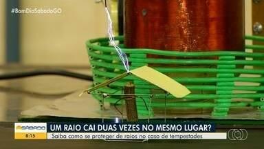 Saiba como se proteger de raios em caso de tempestades - Brasil é o país que mais tem incidência de raios no mundo.
