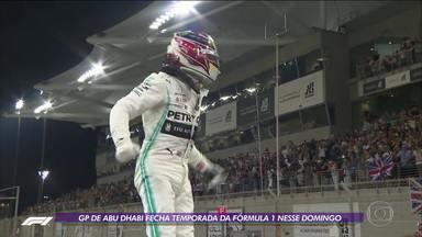 Com Hamilton na pole, GP de Abu Dhabi fecha a temporada da Fórmula 1 - Com Hamilton na pole, GP de Abu Dhabi fecha a temporada da Fórmula 1