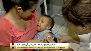 Vacinação contra o sarampo tem dia D em todo o país - Mais de 40 mil postos estão abertos em todo o país.