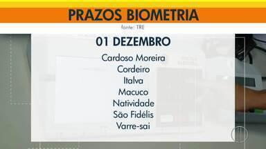Cadastramento biométrico termina amanhã em 8 cidades que recebem sinal da Inter TV - Assista a seguir.