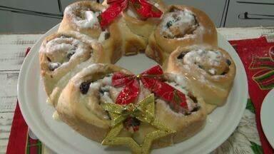 Aprenda a preparar uma deliciosa rosca natalina - Aprenda a preparar uma deliciosa rosca natalina