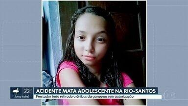 Acidente mata adolescente na Rio-Santos - Motorista foi preso.