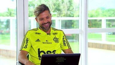 Só emoção! Diego fala sobre a final da Libertadores, lesão e a difícil recuperação - Só emoção! Diego fala sobre a final da Libertadores, lesão e a difícil recuperação