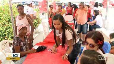 Campanha 'Dezembro Vermelho' é realizada no Maranhão - Segundo dados do Ministério da Saúde, 134 mil brasileiros vivem com HIV e não sabem.