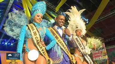 Corte Momesca de BH para o Carnaval 2020 é eleita - A escolha dos representantes da festa de Momo foi feita neste domingo.