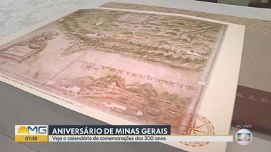 Minas Gerais completa 300 em 2020 e o ano de comemorações tem início nesta segunda, em BH - A programação foi organizada pelo Instituto Histórico e Geográfico de Minas Gerais, para celebrar os 300 anos da criação da Capitania de Minas Gerais, que se separou da Capitania de São Paulo.