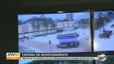 Central de monitoramento irá reforçar segurança durante compras no comércio de São Carlos - Estabelecimentos passam a funcionar a partir de sexta-feira (6) até as 22h.