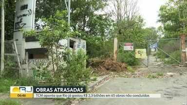 TCM aponta que Rio já gastou R$ 2,3 bilhões em 65 obras paradas - Valor do BRT Transbrasil fica mais de R$ 130 milhões mais caro.