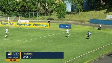Grêmio vence na Copa Internacional RS sub-20 - Tricolor venceu time suéco por 3 a 1.