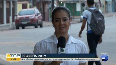 Prefeitura de Santarém prorroga prazo para pagamento de dívidas com desconto - Saiba como proceder para acertar as contas com o município.