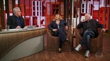 """Arlete Salles fala sobre parceria com Vera Holtz em nova série - As duas protagonizam """"Eu, A Vó e a Boi"""", nova série de Miguel Falabella"""