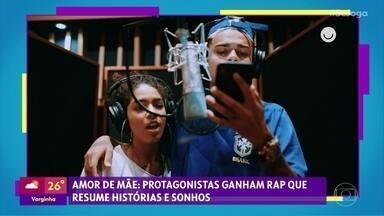 Gshow no 'Se Joga' 04/12: protagonistas de 'Amor de Mãe' ganham rap - MC Cabelinho e Maria gravam música que resume as histórias e sonhos das mães da novela das 9. Regina Casé celebra 20 anos de casamento e fala sobre a personagem Lurdes
