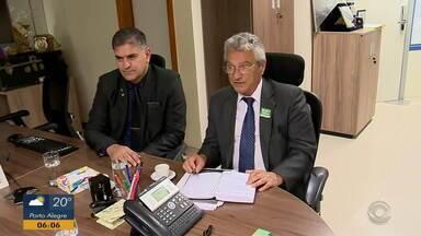 Vice-presidente de Charqueadas vai a Brasília cobrar a construção da Penitenciária Federal - Previsão de conclusão da obra é em 2023.