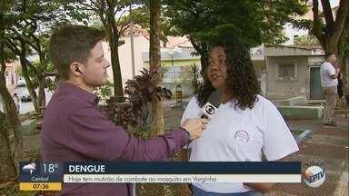 Varginha realiza mutirão de limpeza contra a dengue nesta quinta-feira - Varginha realiza mutirão de limpeza contra a dengue nesta quinta-feira
