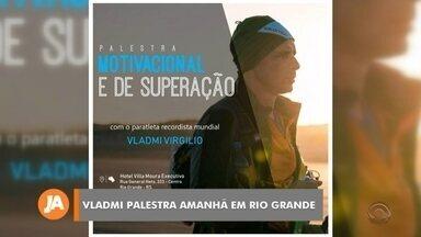 Amanhã tem palestra com o ultramaratonista Vladmi dos Santos - Assista ao vídeo.