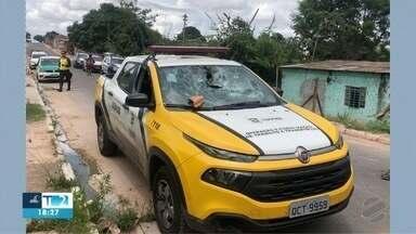 Delegacia de trânsito ainda não abriu inquérito do acidente com viatura da Semob - Delegacia de trânsito ainda não abriu inquérito do acidente com viatura da Semob.