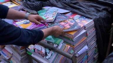 Fantástico denuncia: livros didáticos estão virando lixo no Brasil - undefined