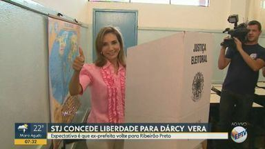 STJ manda soltar Dárcy Vera, ex-prefeita de Ribeirão Preto, SP - Soltura não tem data e horário definidos para acontecer. Ex-prefeita está presa desde 2017 na penitenciária de Tremembé (SP).