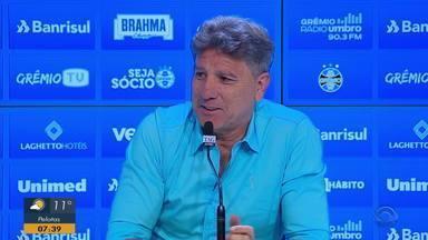 Renato Portaluppi garante time de garotos na última rodada do Brasileirão - Além disso, treinador falou sobre sua renovação.