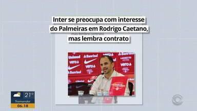 Inter se preocupa com interesse do Palmeiras em Rodrigo Caetano - Executivo é hoje o principal responsável pelo futebol do Inter e tem vínculo até final de 2020.