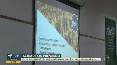 ACidade ON Campinas vence Prêmio Feac na categoria 'fotojornalismo' - Ricardo Lima venceu com trabalho que retrata jovem cadeirante morador do Parque Oziel.