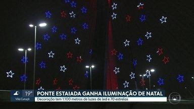SP2 - Edição de sexta-feira, 06/12/2019 - Policiais do DHPP voltam a Paraisópolis para delegado conhecer o local da mortes do último dia 1º. Inflação em São Paulo sobe 10% e fica acima da média nacional. Ponte Estaiada ganha iluminação especial de Natal.