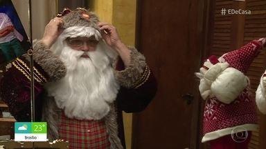 Conheça o Papai Noel mais antigo do Brasil - Desde jovem, Cláudio Roldan leva a alegria do Natal para muitas famílias