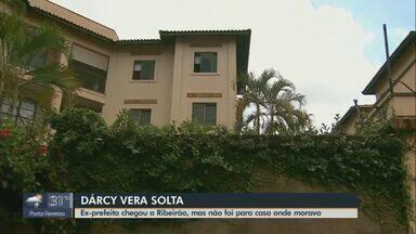 Ex-prefeita de Ribeirão Preto é solta e já retornou à cidade - Dárcy Vera foi condenada por associação criminosa e corrupção.