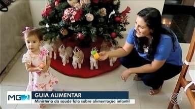Alimentação de crianças é motivo de cuidados para pais em Uberlândia - Ministério da Saúde lançou guia com recomendações sobre a alimentação para os dois primeiros anos de vida da criança.