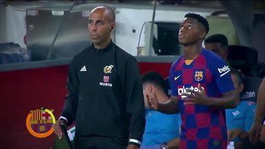 Com apenas 17 anos, Ansu Fati é a grande promessa do Barcelona - Com apenas 17 anos, Ansu Fati é a grande promessa do Barcelona