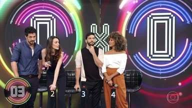 Na segunda rodada,mais uma vez, nenhuma dupla descobre a música no ´Ding Dong - E de novo, quem acerta é a plateia