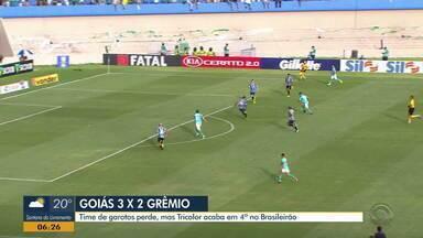 Assista aos gols da vitória do Goiás sobre o time de garotos do Grêmio - Assista ao vídeo.