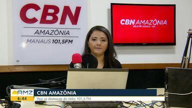 Confira os destaques da CBN Amazônia desta segunda-feira (9) - Confira os destaques da CBN Amazônia desta segunda-feira (9).