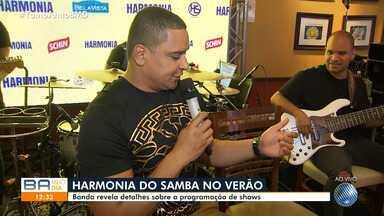 Harmonia do Samba abre temporada de ensaio de verão em Salvador - Confira programação.